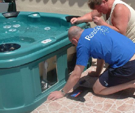 RotoSpa Hot Tubs Design and Construction