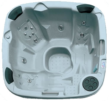 Rotospas - Duraspa 380 Hot Tub with 2 reclining seats and a luxury jet package