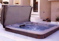 hot tubs for promoting healing