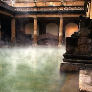 roman used hot tubs extensively for therapeutic pirposes