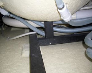 seat supports are added for stength