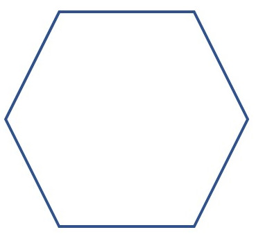 hexagonal cover outine