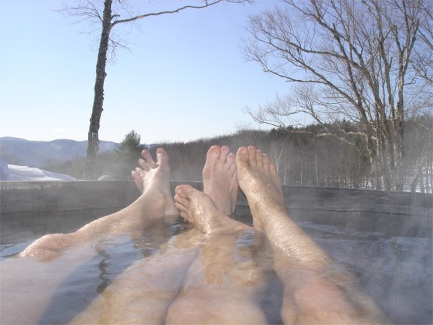 Top tips for winter hot tub use
