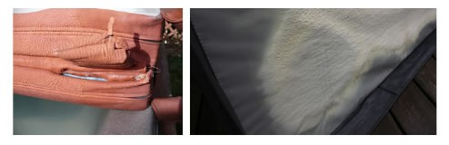 Hot Tub Cover Damage Caused by Chemical Imbalance