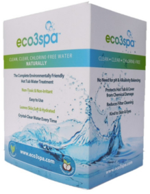 eco3spa natural hot tub water treatment