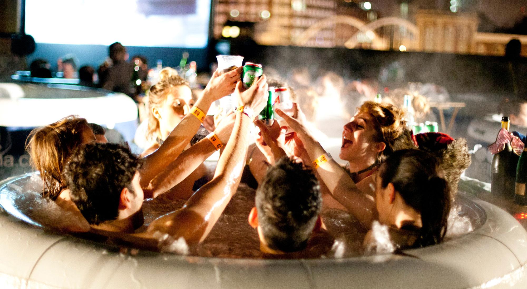 Hot Tub Party Fun!
