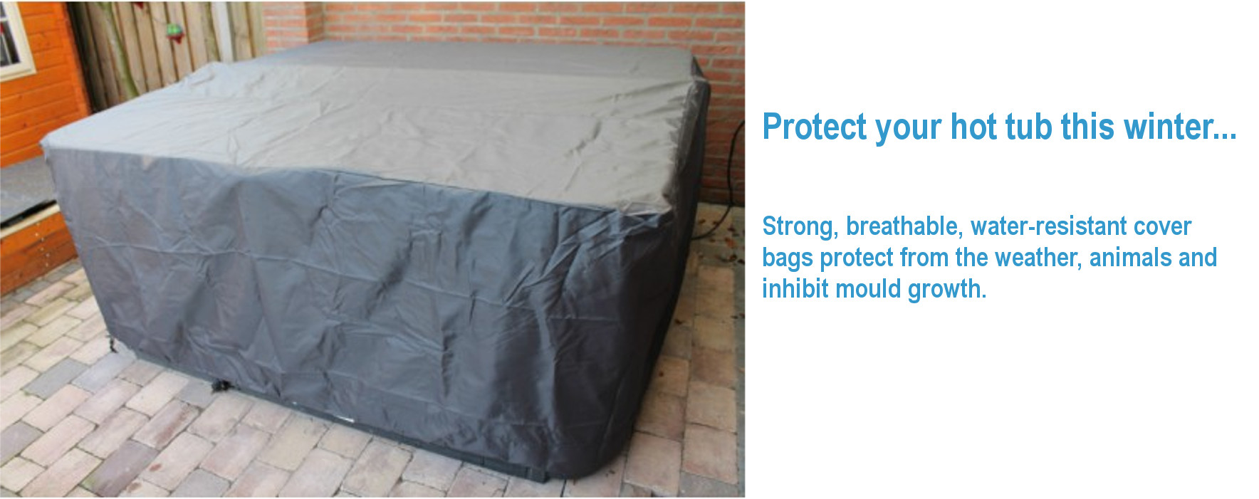 Hot tub protective bags