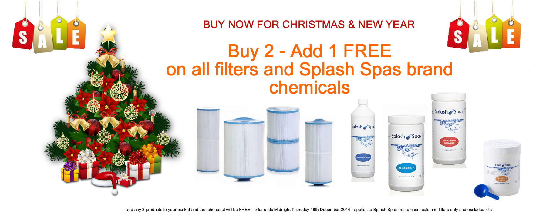 Splash Spas Hot Tub Chemicals