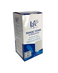 Life Spa Magic Foam Scrub Sponges
