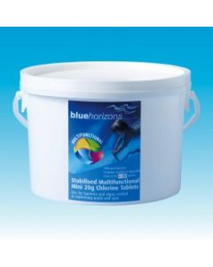 Blue Horizons Multifunctional Mini 20g Chlorine Tablets - 5Kg