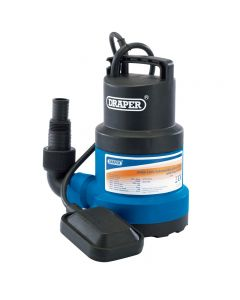 Draper Submersible 125lt/min (350W) Water Pump with Float Switch