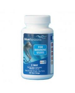 Blue Horizons 3-Way Bromine Test Strips